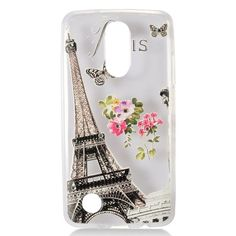 Insten -Color Clear TPU Rubber Candy Skin Case Cover For LG Aristo/ Fortune/ K4