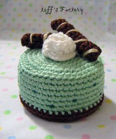 Crochet choco mint