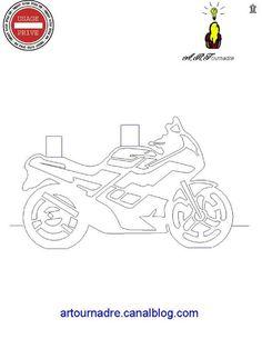 ART kirigami moto de profil                                                                                                                                                     More