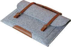 Wool Felt Laptop sleeve Case for Macbook Air Pro Retina 11 12 13 15 Inch Laptop Bag Handlebag Carry Bag for Mac Book Dell Case Macbook Air 13 Cover, Macbook Air Sleeve, Macbook Air Pro, Macbook Case, Ipad Sleeve, Leather Laptop Case, Laptop Bag, Laptop Briefcase, Leather