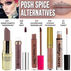 "Jeffree star "" Posh spice "" dupes // @kathrynglee123"