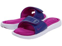 Nike Comfort Slide   Nice to wear after a long workout!! :)
