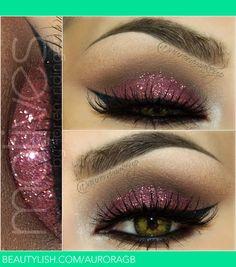 Valentines Day makeup | Maquillateconaurora G.'s (AuroraGB) Photo | Beautylish