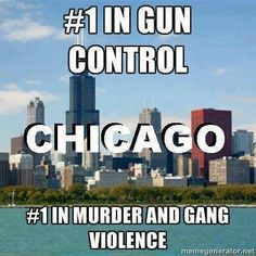 To be honest Gun control has nothing to do with this statistic....BECAUSE CRIMINALS do not REGISTER and own FOIP cards.....and they are buying guns for the sole PURPOSE TO SHOOT AND KILL PEOPLE WITH IT.....