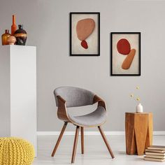 Balancing Act - Art Prints, set 4 Framed Canvas Prints, Canvas Frame, Wall Art Prints, African Interior, Graphic Art Prints, Art Prints For Home, Square Art, Abstract Wall Art, Box Frames