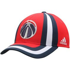 Men s adidas Red Washington Wizards Pride Structured Adjustable Hat b424566013b7