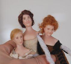 Tarun nuket - Miniature dolls by Taru Astikainen Downton Abbey, Miniature Dolls, Miniatures, Minis