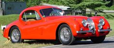1953 Jaguar XK120- my dream in pearl white - never completed -so I gave the car to my son --finish it son
