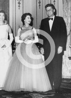 Kennedy & Queen Elizabeth