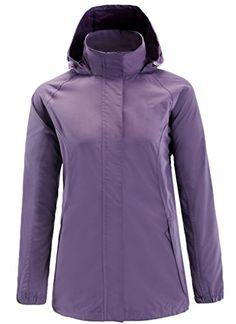 Climbing-ZSHOW Women's Lightweight Waterproof Mountain Jacket Quick Dry Rain…