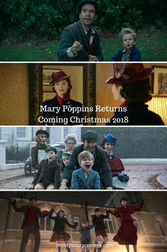 Mary Poppins Returns Is Coming Christmas 2018! #MaryPoppinsReturns #disney #movies