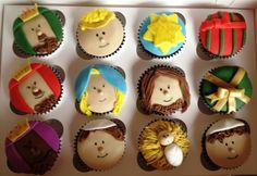 Nativity christmas cupcakes by Cake Mania Ec