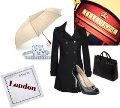 """""""A Day In London"""" by fashionista-222-jlm on Polyvore"""