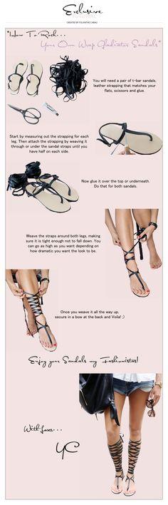 Gladiator Sandals » Yolanthe Cabau