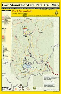 29 Best State Park Trail Maps images