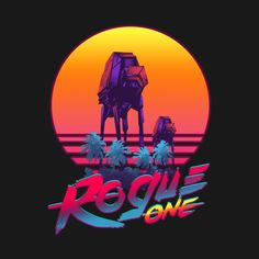Check out this awesome 'Rogue+One+Paradise' design on @TeePublic!
