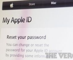 Major security hole allows Apple passwords to be reset with only email address, date of birth (update)