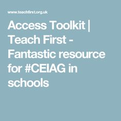 Access Toolkit We want to empower all teachers to take action to support young people on their journey to university, employment, an apprenticeship or other post school destination. This is why we developed the Access Toolkit. Digital Literacy, Young People, Schools, College, Teacher, Student, Canvas, Tela, University