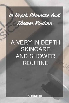 """As the months get colder I like to use a more elaborate skincare and shower routine. I am definitelysomeone who does not shy away from spending way too long in the shower. And if for some reason it is interesting to others like it is to me, here you go. When I shower I use … Continue reading """"In Depth Skincare and Shower Routine."""""""