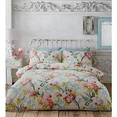Butterfly Home by Matthew Williamson Multi-coloured floral print bedding set- | Debenhams