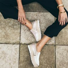 The Luster slip on platform by Saint & Summer keeps you sporty and chic at the same time. Adding a touch of luxe to any casual look. These are a step above your ordinary shoe. Perfect for Luster, Casual Looks, Espadrilles, Sneakers Nike, Platform, Slip On, Sporty, Wedges, Touch