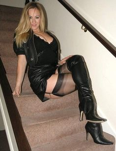 Image result for Milf in stockings and suspenders