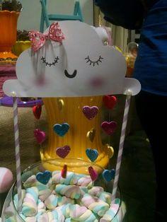 Imagem relacionada My Princess, Cloud Party, Alice, Babyshower, Rainbow Cloud, Mr Wonderful, Baby Party, Paper Art, Balloons