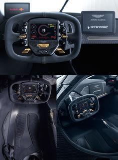 2018 aston martin valkyrie interior UX / UI HMI