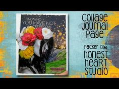 Yet to Become - a collage journal page - YouTube