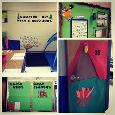 I will have a camp themed classroom at least once in my life!