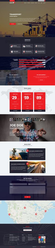 Transportation Theme, Corporate Business, Page Layout, Wordpress Theme, The Incredibles, Wordpress Template