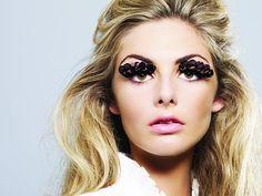 lace eyelashes