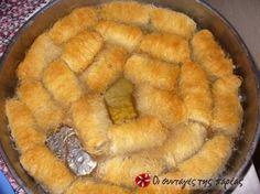 Kantaifi - traditional Greek dessert