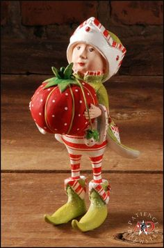 2012 Patience Brewster Krinkles, Prancer's Tailor Elf Ornament