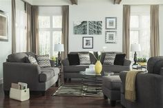 Gray and Burgundy Living Room . Gray and Burgundy Living Room . Wohnzimmer Idee Elegant Gray and Burgundy Living Room Buy Living Room Furniture, Contemporary Living Room Furniture, Desk In Living Room, Living Room Images, Living Room Colors, Living Room Designs, Living Room Decor, Benchcraft Furniture, Coastal Furniture
