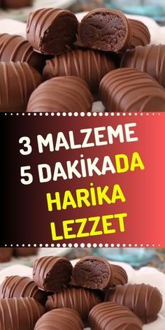 Delicious Snack Recipe with 3 Ingredients Very Practical Dessert Recipe - Today, we make delicious chocolate snacks using only 3 ingredients. Sweet Recipes, Cake Recipes, Snack Recipes, Dessert Recipes, Cooking Recipes, Köstliche Desserts, Delicious Desserts, Subway Cookie Recipes, Brioche Nutella