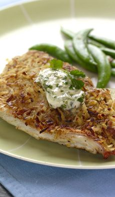 Coconut-Crusted Red Snapper - This simple yet sumptuous recipe for red snapper is Thai-inspired, though variations can be found throughout the Caribbean.