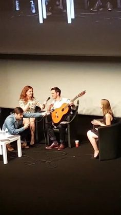 Liam, Bex and Colin's Panel - Fairy Tales IV - June 2016