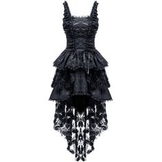 Jacquard Fishtail Gothic Dress by Dark in Love ($81) ❤ liked on Polyvore featuring dresses, gothic lolita dress, jacquard dress, blue dress, gothic dresses and goth dresses