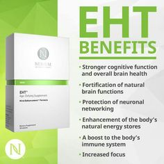 Defend your brain against aging! Pre-sale of EHT is Friday May 15th while supplies last! www.lorireiss82.nerium.com