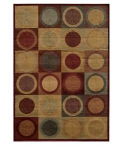 "Closeout! Momeni Area Rug, Dream Dr-06 Red 2'3"" x 7'6"" Runner Rug"