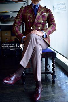 Jacket: DRAPERS, Wool&Silk&Linen