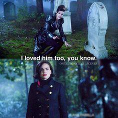 Regina and Evil Queen - 6*10 ~ Wish You Were Here