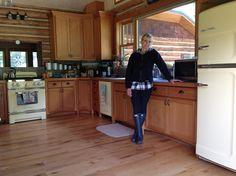 Big Chill fridge, dishwasher and stove in buttercup yellow Kitchen Redo, Kitchen Remodel, Kitchen Ideas, Retro Refrigerator, White Picket Fence, Picket Fences, American Kitchen, Vintage Appliances, Big Chill