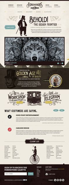 Forefathers. #webdesign| #webdesign #it #web #design #layout #userinterface #website #webdesign <<< repinned by an #advertising #agency from #Hamburg / #Germany - www.BlickeDeeler.de
