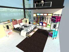 Yatak Odası Tasarımı/ Sketch up modelleme