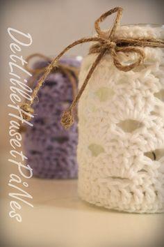 Hekla lyslykter Lana, Crocheting, Christmas Ornaments, Knitting, Holiday Decor, Sweet, Home Decor, Tejidos, Chrochet
