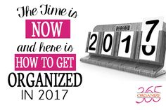 Are you ready to once and for all GET organized? I'm here to help! #getorganized #organize365 #organizationchallenge