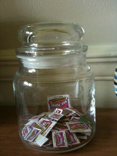 reuse old candle jars - diy how to get rid of the wax & residue & label