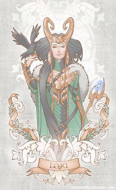 House of Loki: Lady Loki by *Medusa-Dollmaker on deviantART